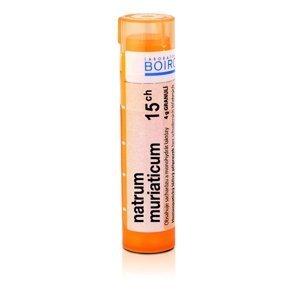 Boiron NATRUM MURIATICUM CH15 granule 4 g