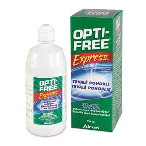 Opti free Express No rub lasting comfort roztok na kontaktní čočky 355 ml