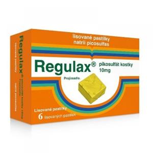 Regulax Pikosulfát 10 mg kostky 6 ks