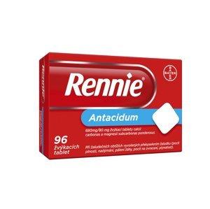 Rennie 96 žvýkacích tablet