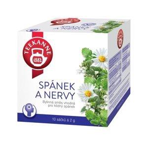 Teekanne Spánek a nervy bylinný čaj porcovaný 10x2 g