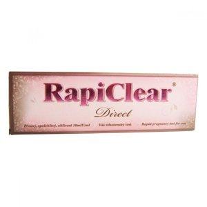 Rapiclear Direct těhotenský test 1 ks