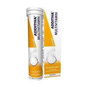 Additiva Multivitamin pomeranč 20 šumivých tablet