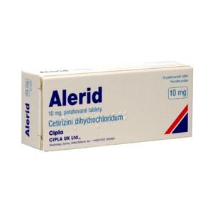 Alerid 10 mg 10 tablet