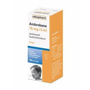 Ambrobene 15mg/5ml sirup 100 ml