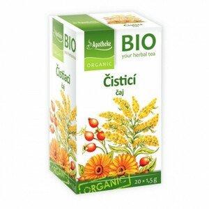 Apotheke BIO Čistící čaj nálevové sáčky 20x1,5 g