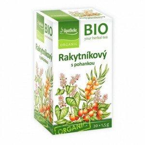 Apotheke BIO Rakytníkový čaj s pohankou nálevové sáčky 20x1,5 g