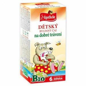 Apotheke BIO Dětský čaj dobré trávení nálevové sáčky 20x1,5 g