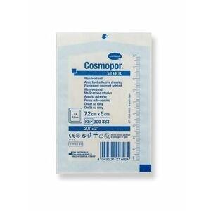 Cosmopor Steril 7,2 x 5 cm krytí na rány 1 ks