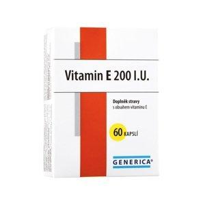 Generica Vitamin E 200 I.U. 60 kapslí