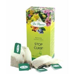 Dr. Popov Stop cukr porcovaný čaj 20x1,5 g