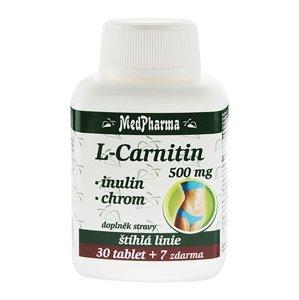 Medpharma L-Carnitin 500 mg + Inulin + Chrom 37 tablet