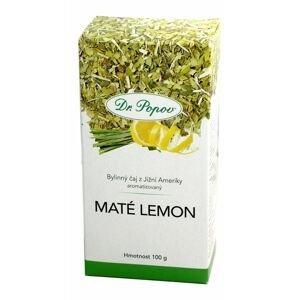 Dr. Popov Maté Lemon sypaný čaj 100 g