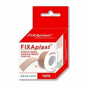 Fixaplast Náplast 2,5 cm x 5 m cívka 1 ks