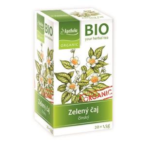 Apotheke BIO Zelený čaj nálevové sáčky 20x1,5 g
