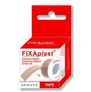Fixaplast Náplast 2,5 cm x 2 m cívka 1 ks