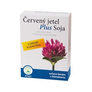 Vegall Pharma Červený jetel Plus Soja 30 kapslí