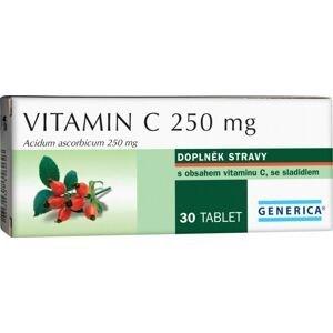Generica Vitamin C 250 mg 30 tablet