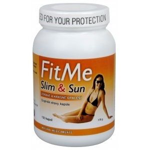 Natural Medicaments FitMe Slim&Sun 100 kapslí