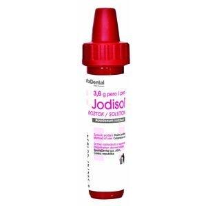 Jodisol roztok 3,6 g pero