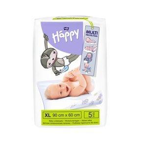 Bella Baby Happy Přebalovací podložky 60 x 90 cm 5 ks