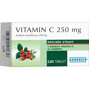 Generica Vitamin C 250 mg 120 tablet