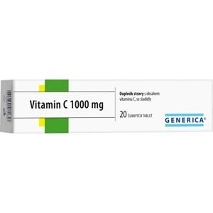 Generica Vitamin C 1000 mg 20 šumivých tablet