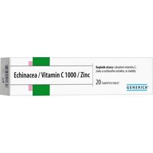Generica Echinacea/Vitamin C 1000/Zinc 20 šumivých tablet