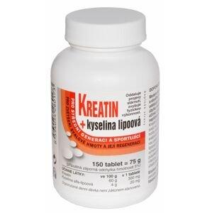 Naturvita Kreatin + Kyselina lipoová 150 tablet