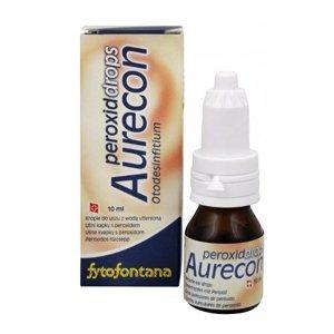 Aurecon Peroxid drops ušní kapky 10 ml