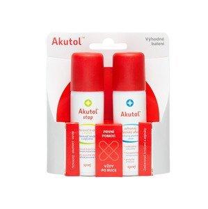 Akutol spray + STOP spray duopack 2x60 ml