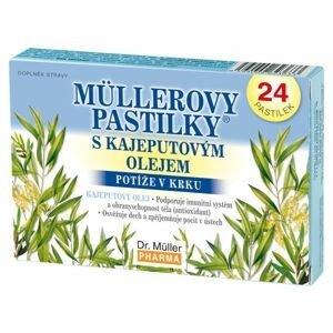 Dr. Müller Müllerovy pastilky s kajeputovým olejem 24 pastilek