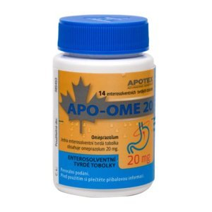 Apo- Ome 20 mg 14 tobolek