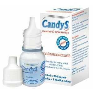 Candys S sladidlo se sukralózou 10 ml