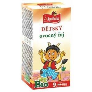 Apotheke BIO Dětský čaj ovocný nálevové sáčky 20x 2 g