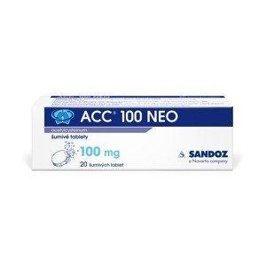 ACC 100 NEO 100 mg 20 šumivých tablet
