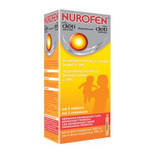 Nurofen pro děti jahoda suzpenze 200 ml