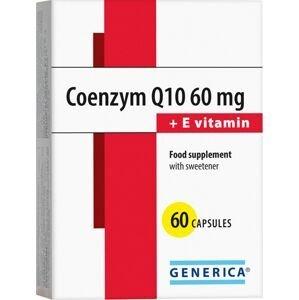 Generica Coenzym Q10 60 mg + E vitamin 60 kapslí