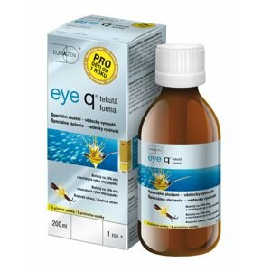 Eye q příchuť vanilka tekutá forma 200 ml