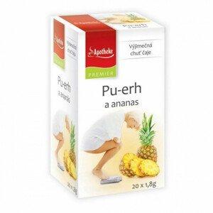 Apotheke Pu-erh a ananas čaj nálevové sáčky 20x1,8 g