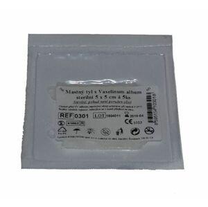 Steriwund Krytí sterilní - mastný tyl 5 x 5 cm 5 ks