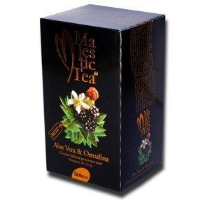 Biogena Majestic Tea Aloe Vera + Ostružina porcovaný čaj 20x2,5 g
