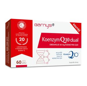 Barny´s Koenzym Q10 Dual 60 mg limitovaná edice 30+30 kapslí