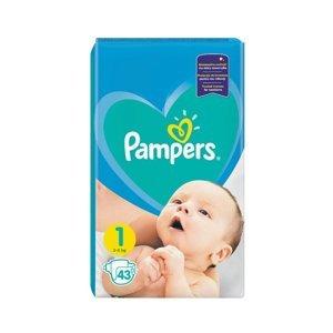 Pampers vel. 1 Newborn 2-5 kg dětské pleny 43 ks