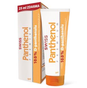 Swiss Panthenol PREMIUM 10 % gel 100+25 ml