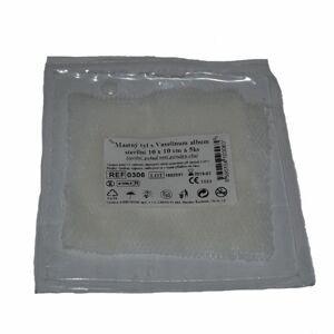 Steriwund Krytí sterilní - mastný tyl 10 x 10 cm 5 ks