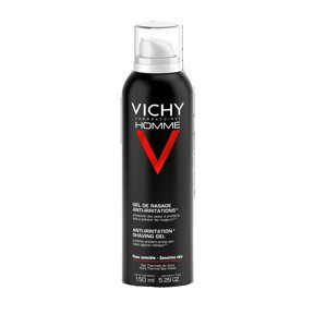 Vichy Homme Gel na holení na citlivou pokožku 150 ml