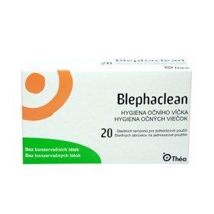 Blephaclean Hygiena očního víčka sterilní tampony 20 ks
