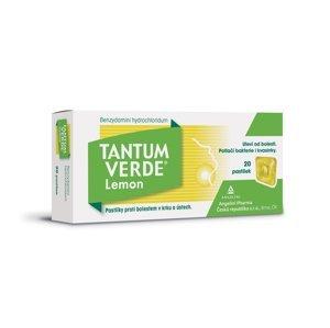 Tantum verde Lemon 3 mg 20 pastilek