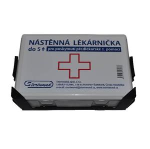 Steriwund Lékárnička nástěnná plastová do 5 osob 1 ks